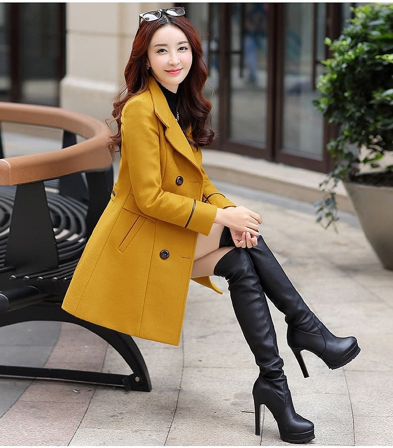 Long coats have a plethora of other designs in the market