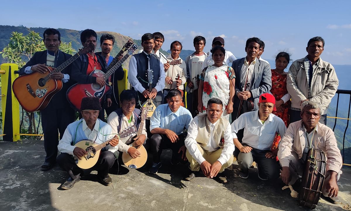 This farmers' orchestra in Meghalaya village will blow your mind