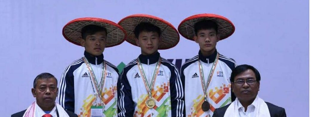 The gold and bronze were bagged by Arunachal while Assam pocketed the silver medal