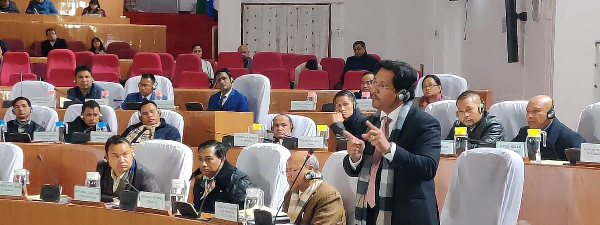 Massive protests erupted during the special session of Shillong assembly that took place on December 19, 2019