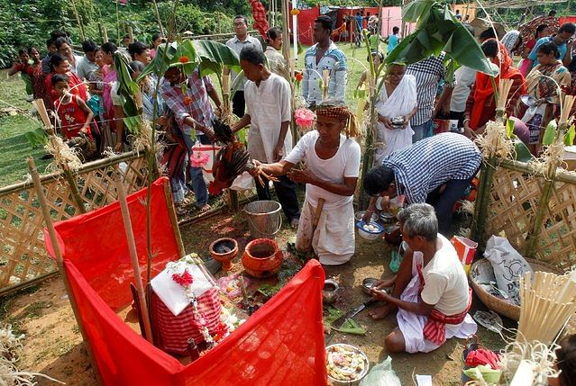 Garia Puja is one of the most celebrated festivals by the indigenous people of the state Tripura