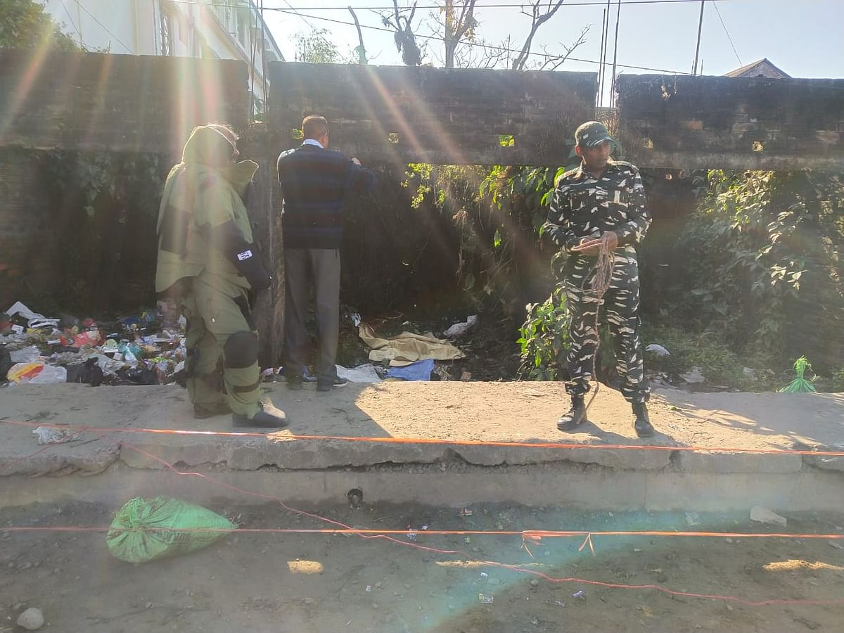 5 blasts in quick succession was reported on Republic Day morning
