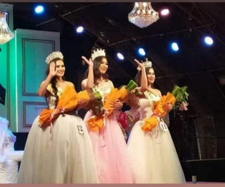 The winners of Miss Manipur 2019