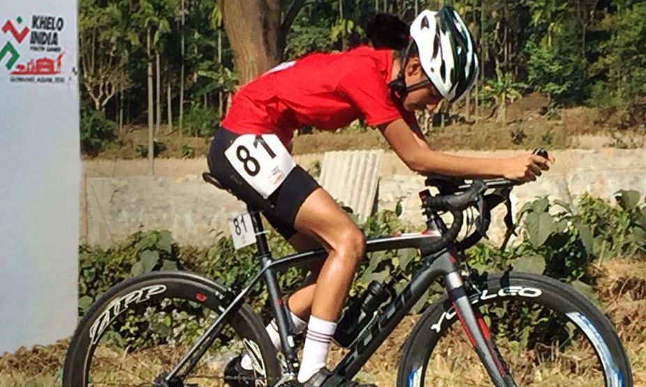 Khelo India Youth Games: Assam cyclist bags second gold for state