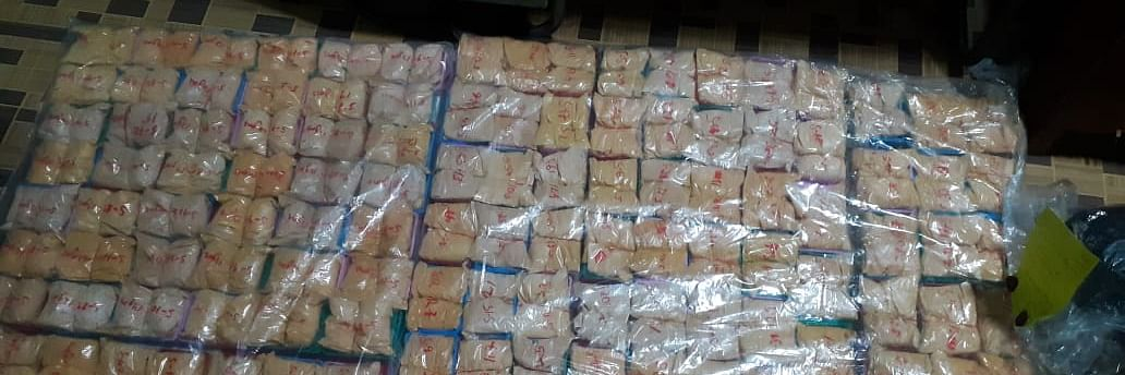 Mizoram: 6 people, including 1 woman, held with 1.5 kg heroin