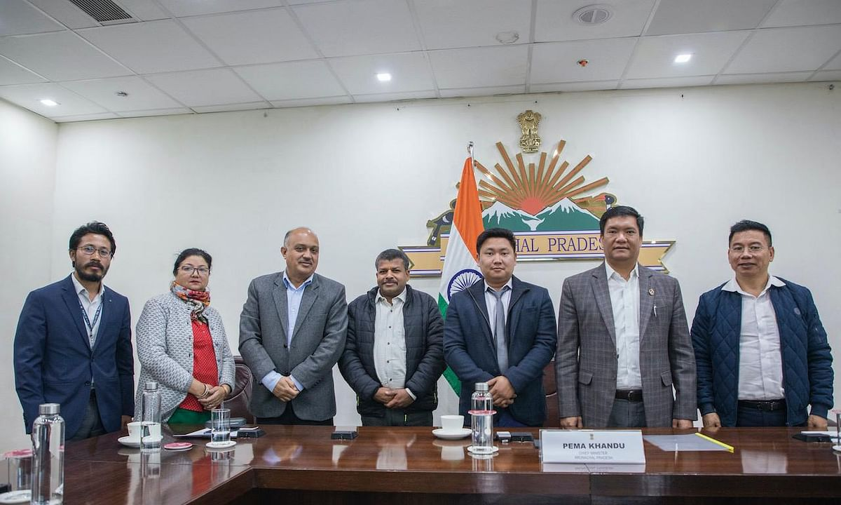Arunachal CM takes stock of Mega Food Park project in Papum Pare