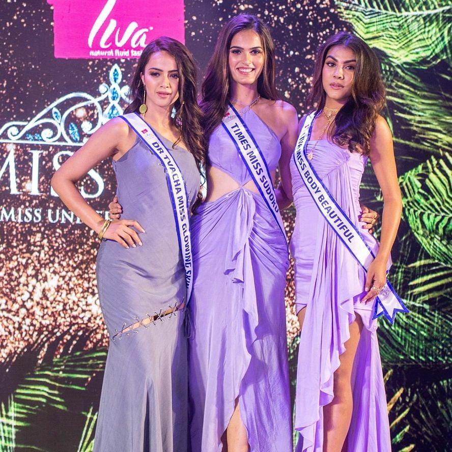 Along with the title of Northeast Diva 2019, Malashya Kashyap (right) got a direct entry into LIVA Miss Diva 2020