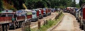 The Imphal-Dimapur road along NH-2 is considered the lifeline of Manipur