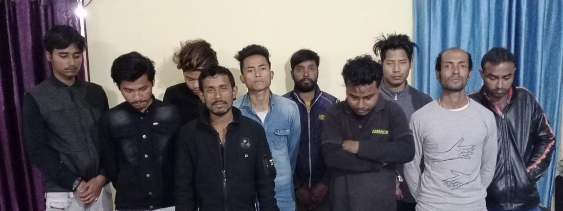 Youths arrested by Naharkatia police