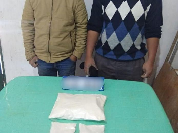 Manipur: Drugs worth Rs 1.97 crore recovered in Tengnoupal, 2 held