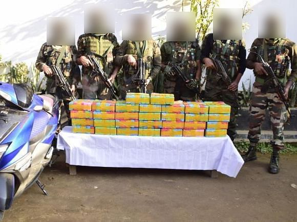 Manipur: Contraband drugs worth Rs 8.58 crore recovered near Moreh