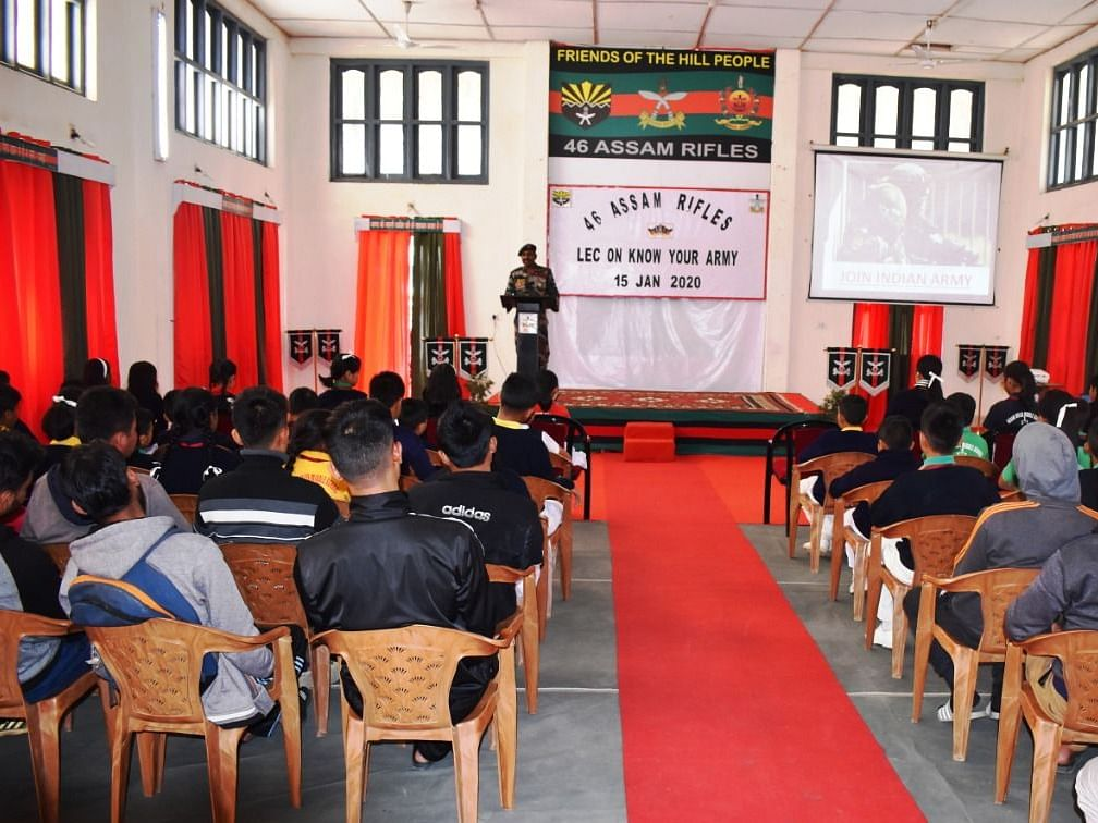 Army Day: Assam Rifles holds 'Know Your Army' lecture in Mizoram