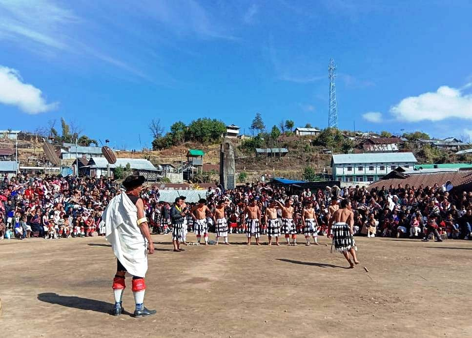 Thuni is a festival of new harvest and is celebrated in all the Poumai villages in grand ceremonial gaiety from January 5 every year