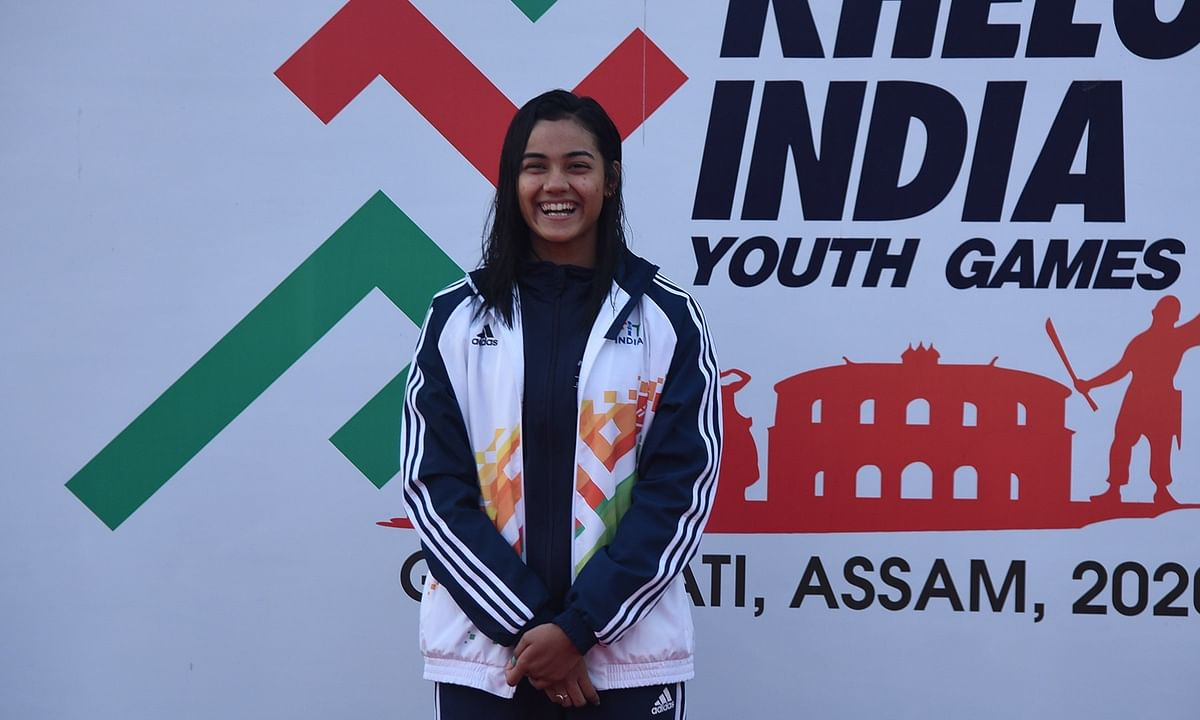 Khelo India: Assam swimmer Shivangi Sharma wins her 4th gold medal