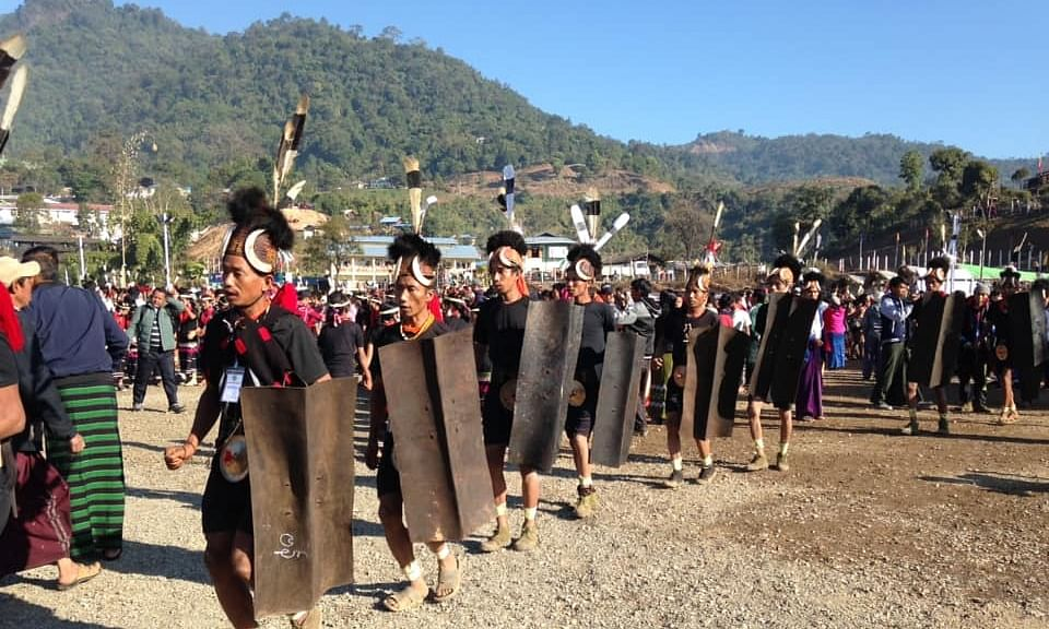 IN PHOTOS: Naga New Year Festival celebrated in Lahe, Myanmar