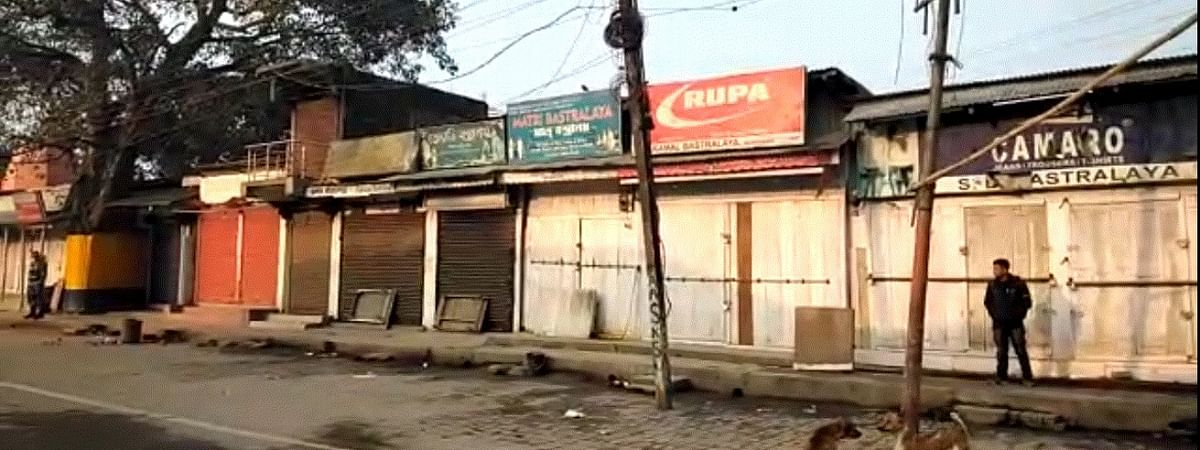Shops, business establishments remain closed on Monday due to the bandh called by 21 organisations