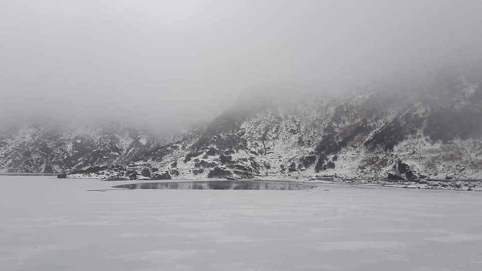 IN PHOTOS: Stunning images of frozen Tsomgo Lake in East Sikkim