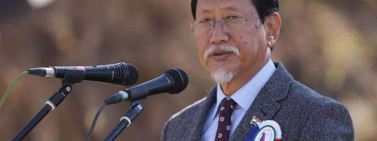 Chief minister Neiphiu Rio said that the top priority of his government is the early settlement of the Naga political issue