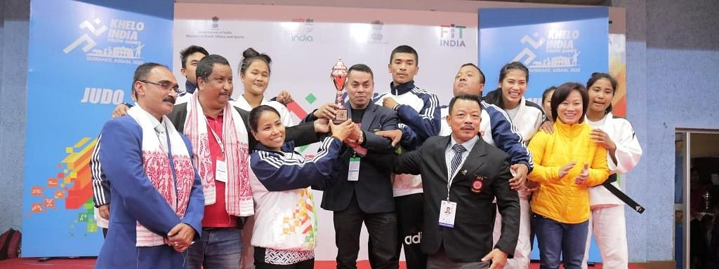 Manipur won a total of 17 medals in judo – six gold, four silver and seven bronze