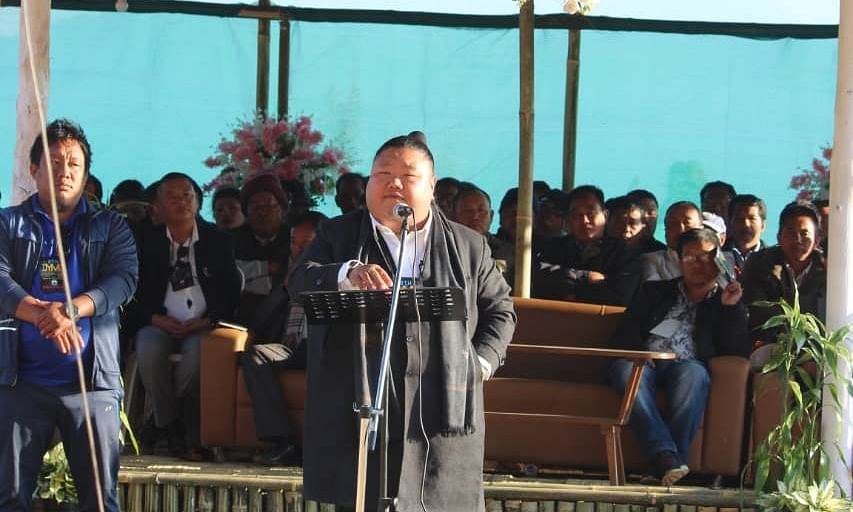 Nagaland: Temjen Imna Along re-elected as state BJP president