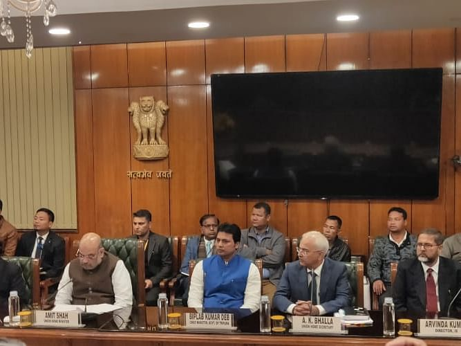 Bru pact: Political parties react, NGOs express disappointment