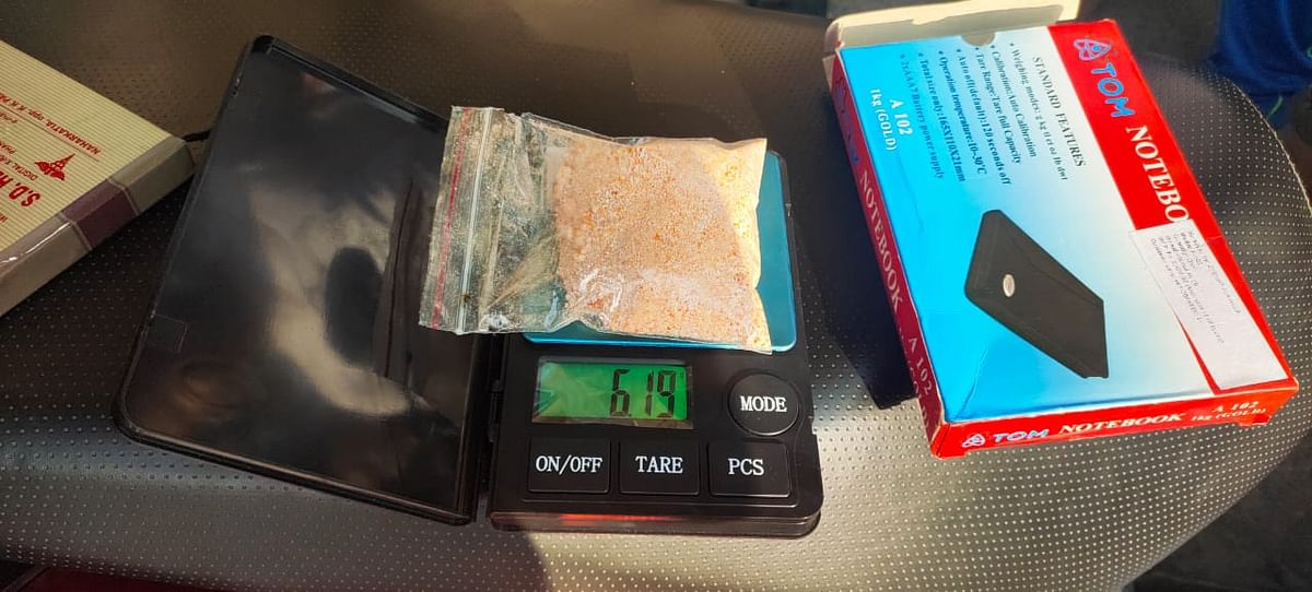Heroin seized by police