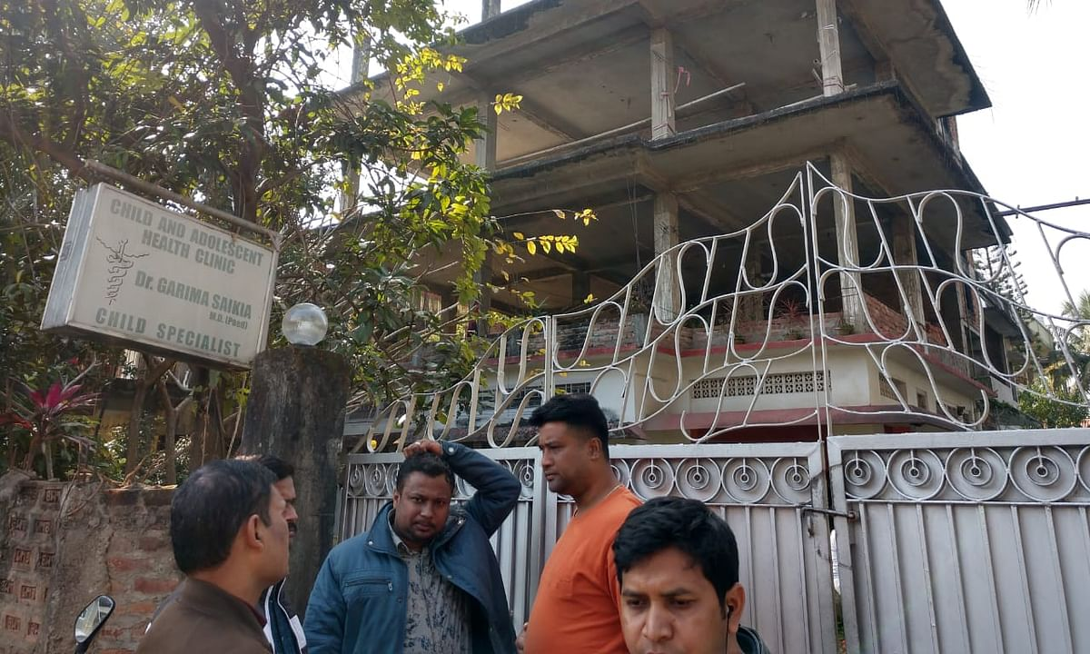 The senior citizen was killed in his residence near Assam Secretariat at Dispur