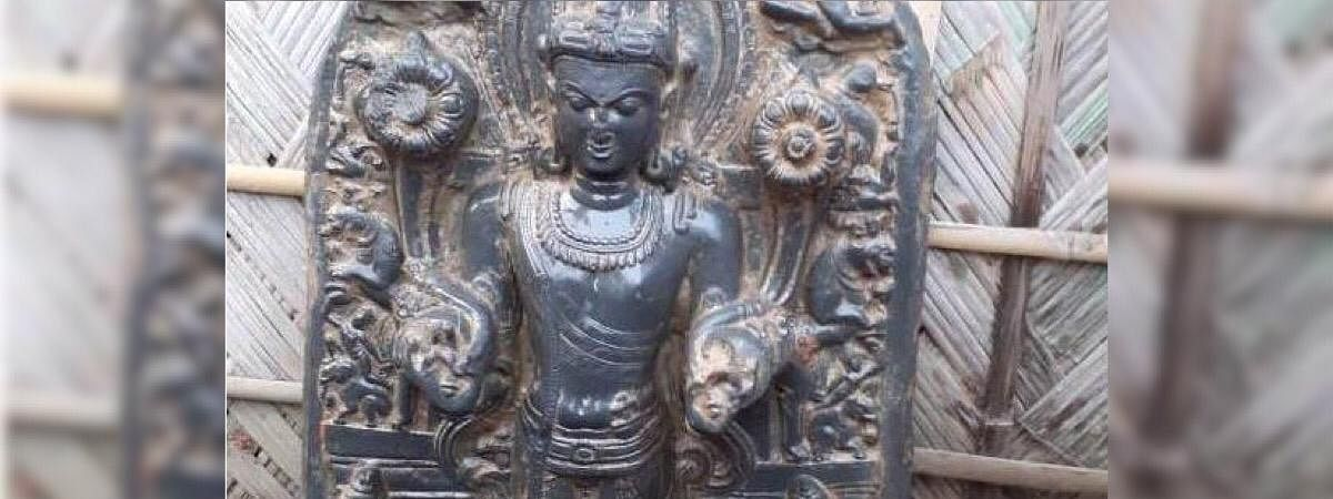 The Surya figure is tentatively to be from the 11th-12th century
