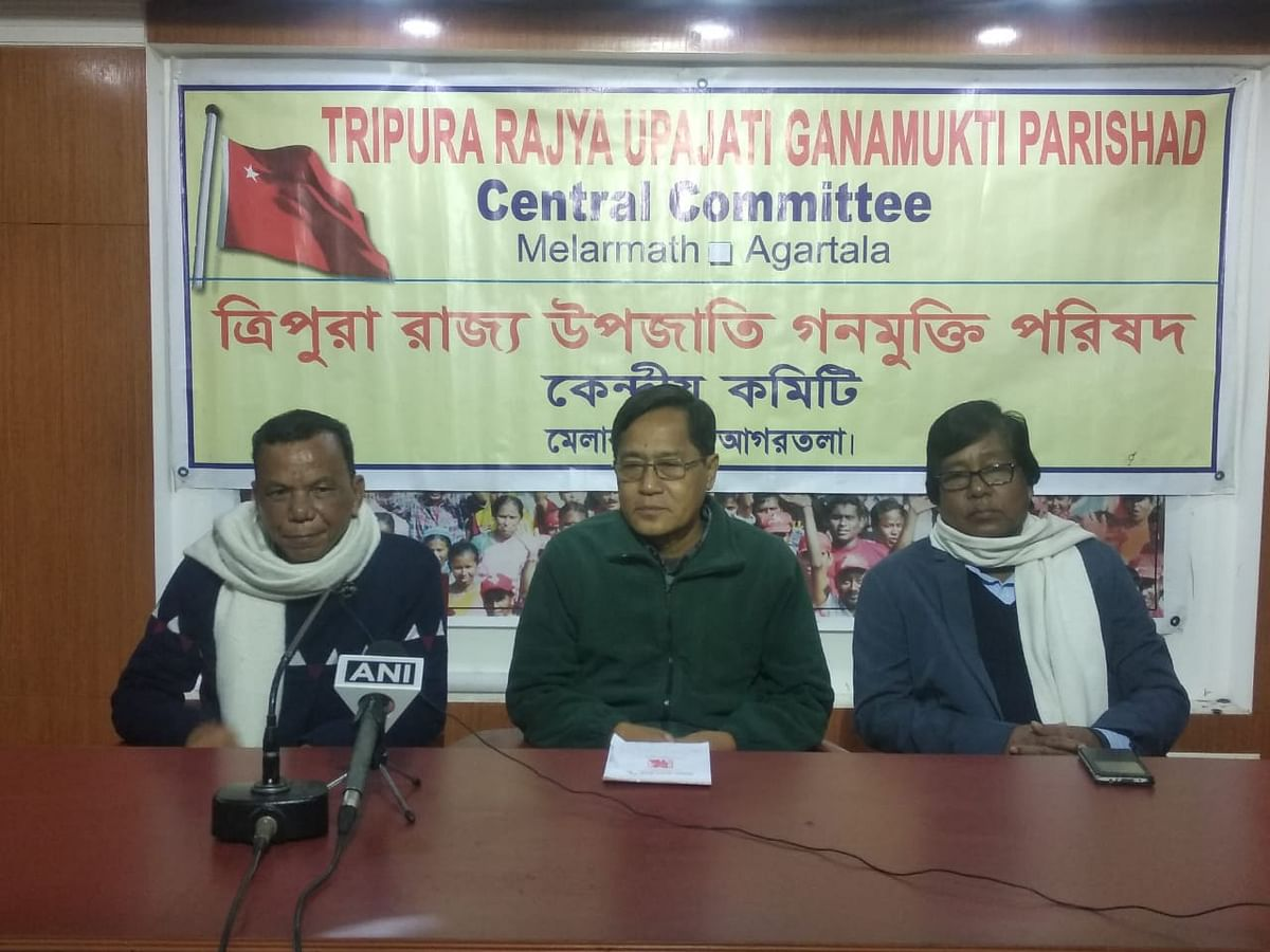 Tripura CPM's tribal wing calls for mass resistance against CAA
