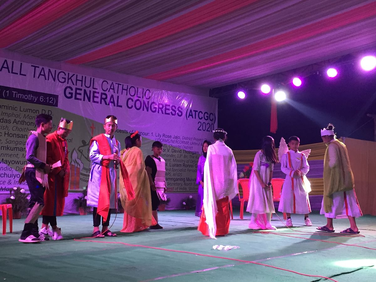 Manipur: All Tangkhul Catholic General Congress gets underway