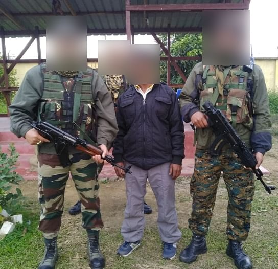 The member of Manipur-based militant group UNLF arrested in Thoubal district