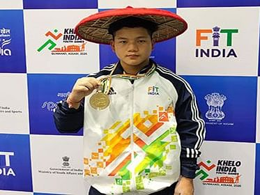 Khelo India: Weightlifter Markio Tario bags 2nd gold for Arunachal