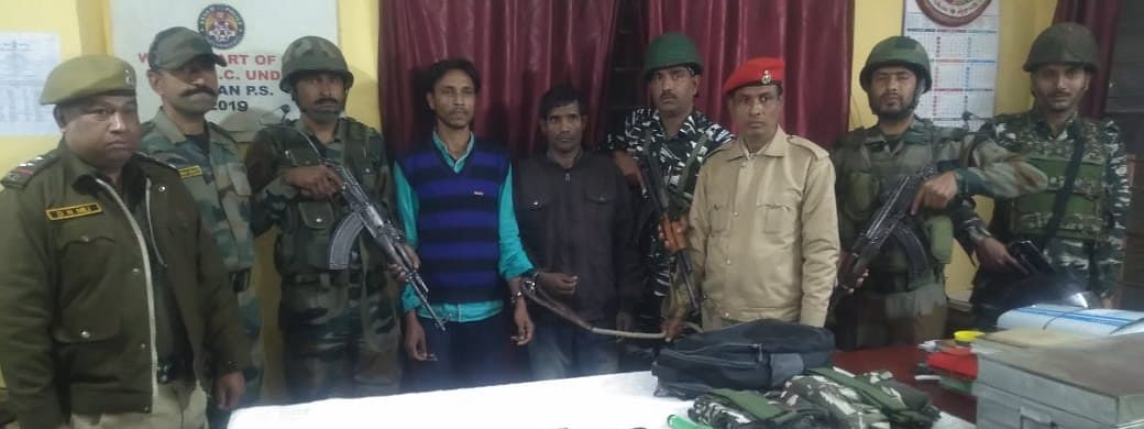 The rebels have been identified as Romen Urang, 25, and Deepok Borah, 26, both hailing from Assam's Jorhat district