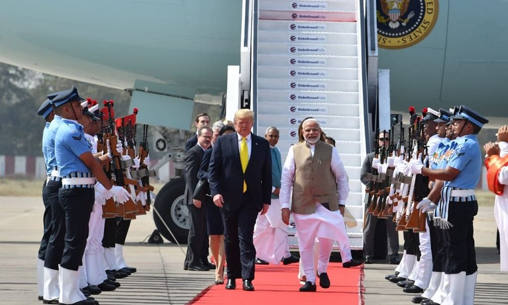 US President Donald Trump in India on 2-day visit | Day 1 | LIVE