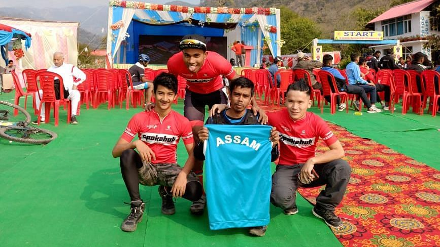 The players from Assam were selected based on their performance in local and regional events