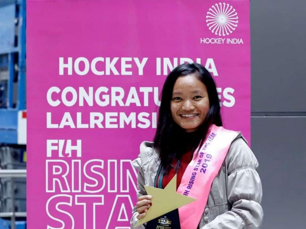 Mizoram's Remsiami named 2019 FIH Women's Rising Star of the Year