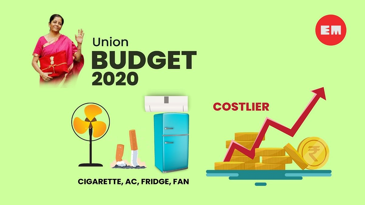 Duties have been raised on cigarettes and fans and on input products for fridge, ACs.