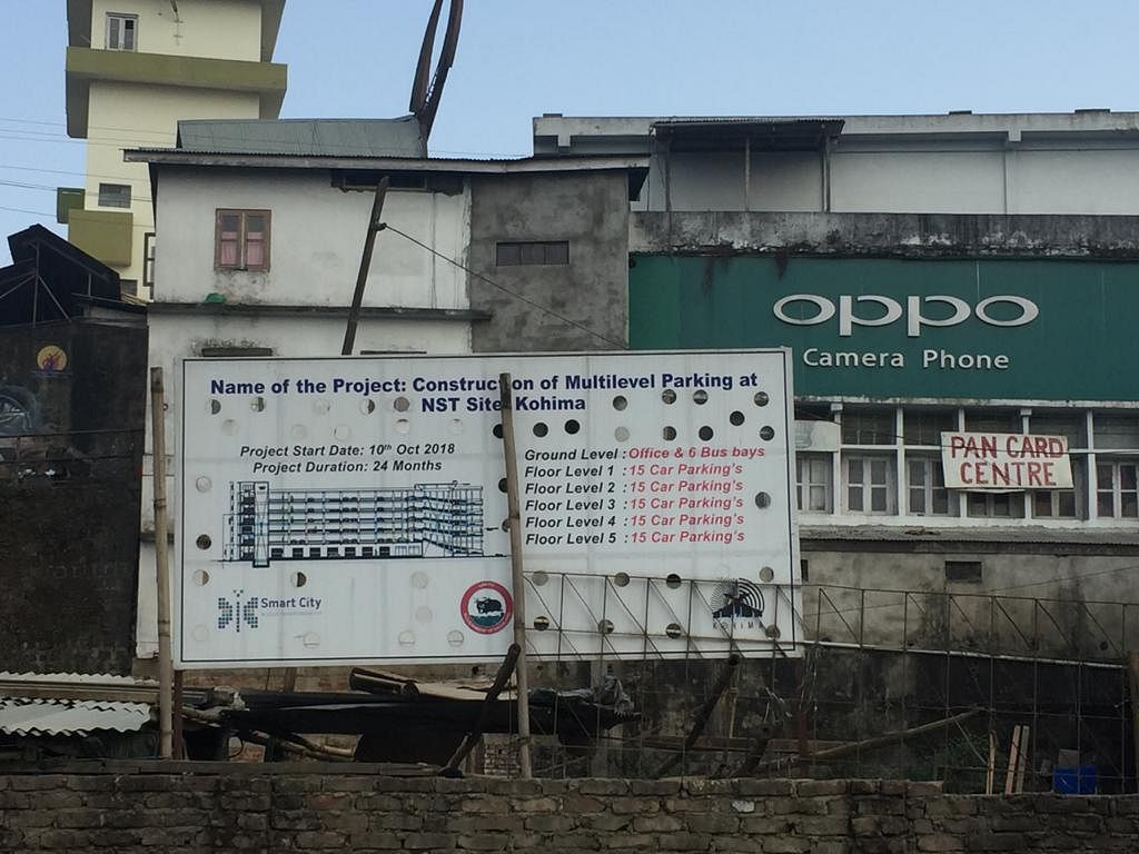 Kohima Smart City: Rs 79 cr released for execution of 7 projects