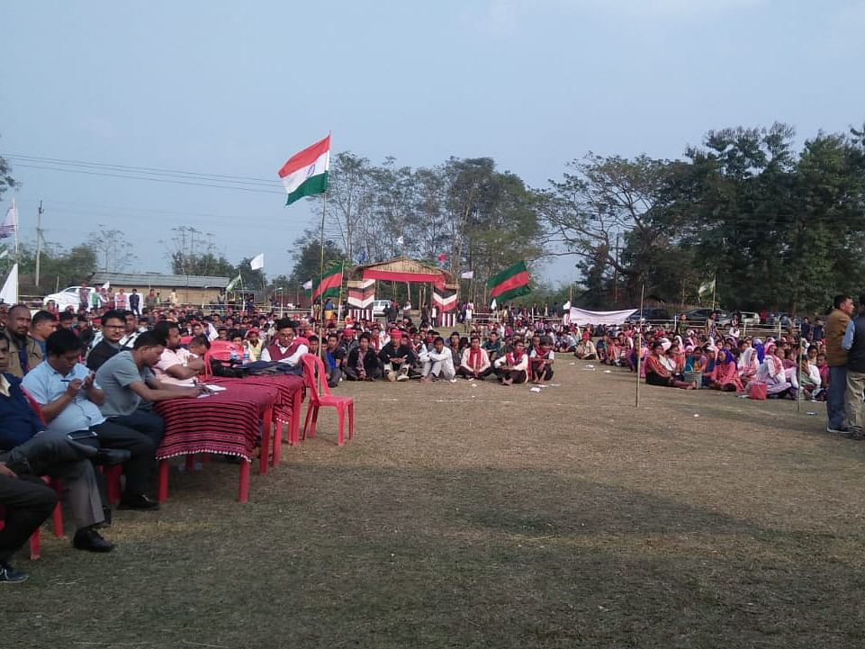 Assam: Anti-CAA protest rally held in Karbi Anglong