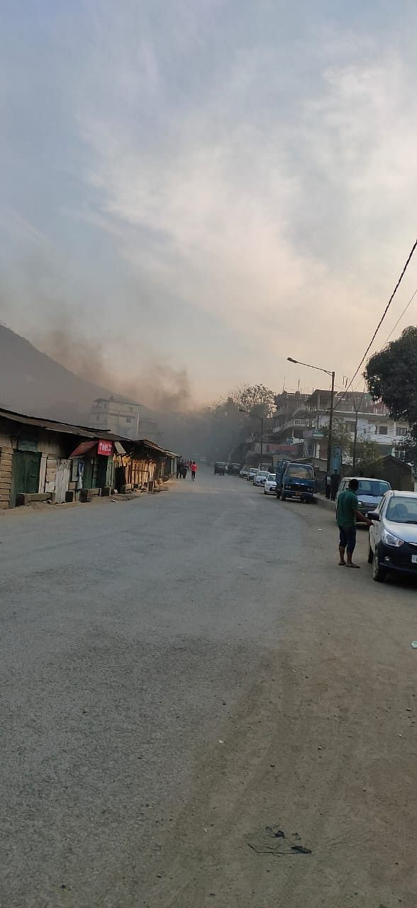 Situation remained tense at Senapati town in Manipur on Friday