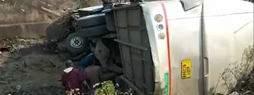 The exact reason for the accident is not yet ascertained