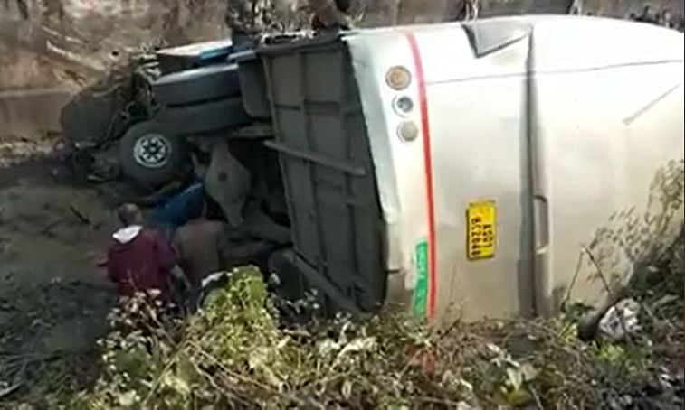 Assam: 5 dead, several hurt as bus falls into gorge in Goalpara