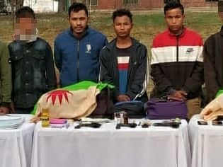 Assam: 4 minors on way to join ULFA-I rescued, 4 rebels arrested