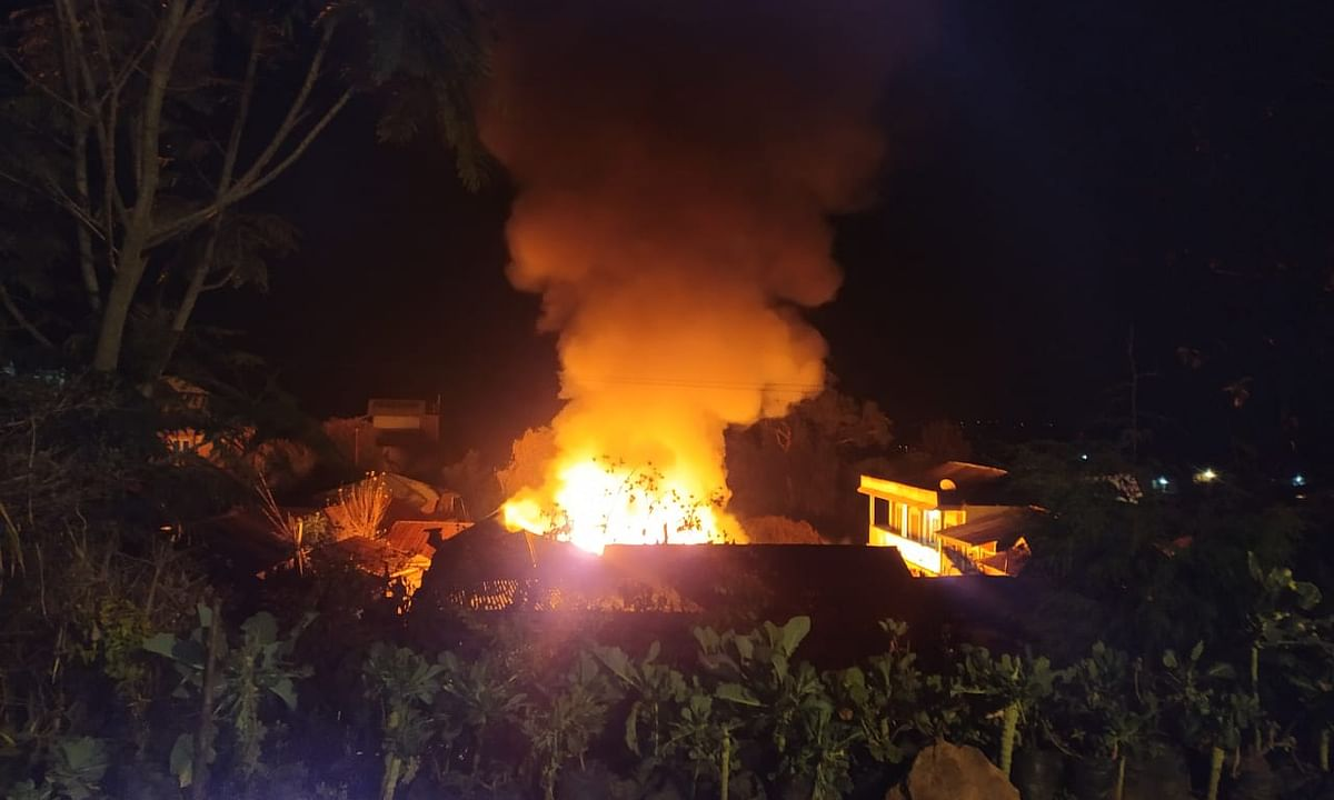 Manipur: Two private homes razed in Ukhrul fire within 24 hours