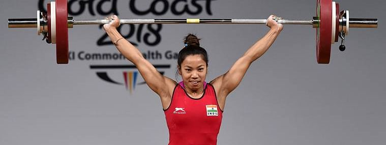 Mirabai Chanu's previous best of 201kg had come at the World Championship in Thailand in September last year