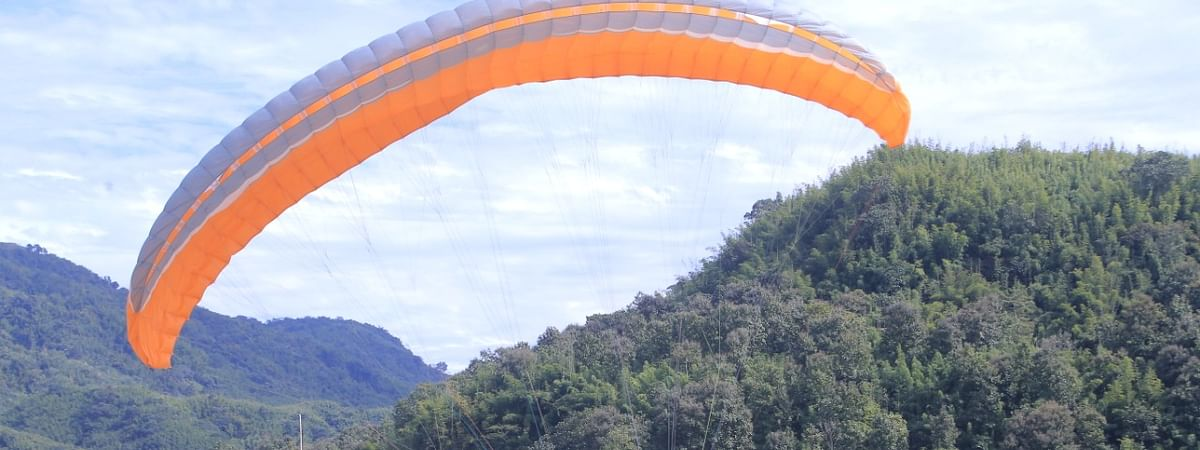 Take off point for this Paragliding championship will be held at Bawngchawm