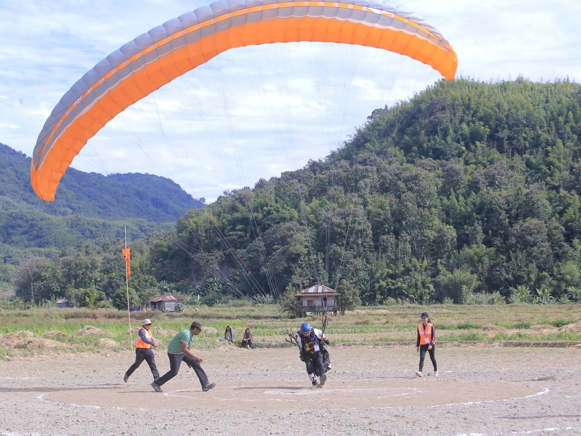 Mizoram gears up for international paragliding event from Feb 12