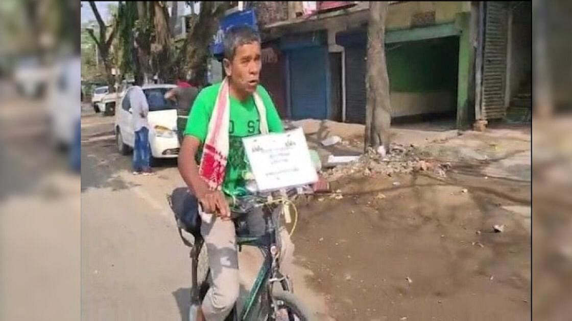 This Salman Khan fan cycled 600 km to reach Guwahati. Know why
