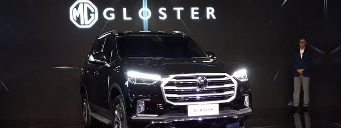In pic: Morris Garages full-size SUV, the Gloster