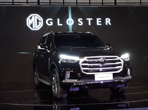 Auto Expo 2020 unveils spectacular MG Gloster Full-Size SUV